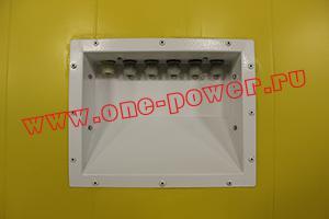 Фото коммутационной панели блок-контейнера ББН.4-6-0004