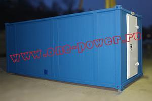Фотографии блок-контейнера для генератора производства компании КРОН