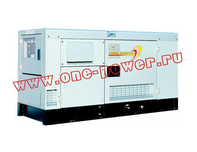 Дизельный генератор Yanmar YEG300DSHS
