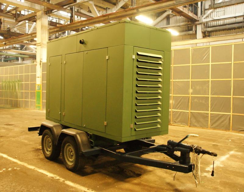 Дизельный генератор для стройки
