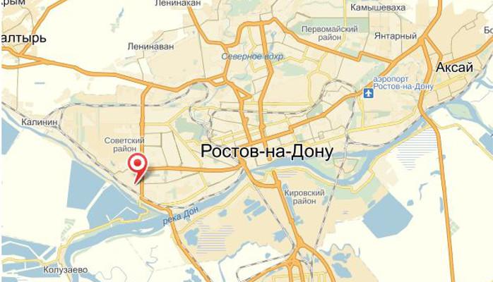 Карта города Ростова-на-Дону