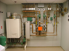 Инверторный бензиновый генератор для газового котла