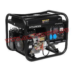 Бензиновый генератор 4 кВт Hyundai HY 6000LE