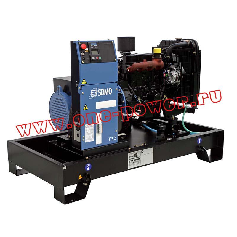 Усовершенствование дизельных генераторов SDMO
